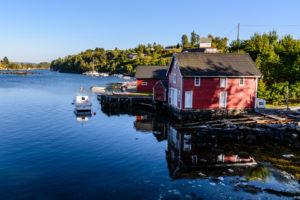 Typisches Norwegisches Haus