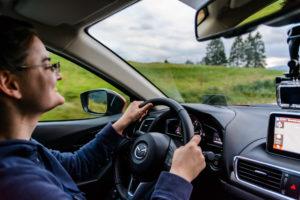 Cazze beim Autofahren... So zufrieden habe ich nicht immer geschaut